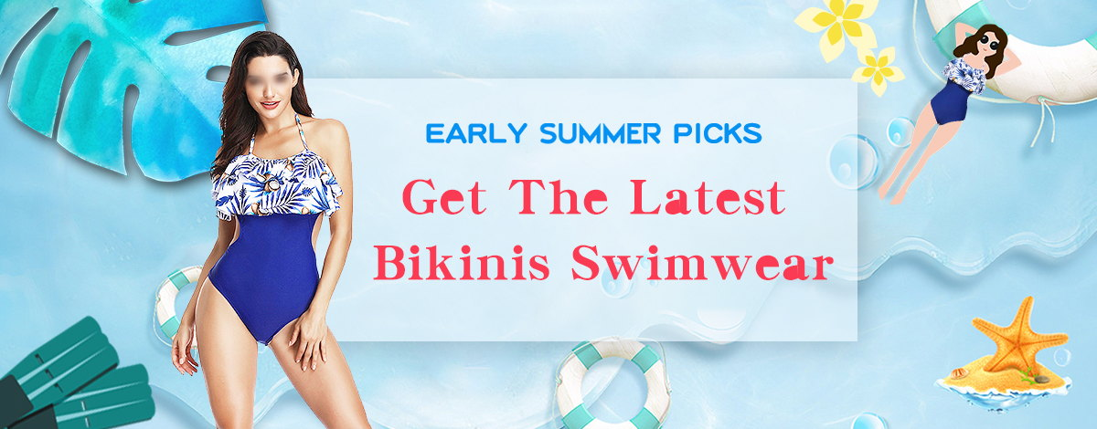 Top Bikinis & Swimsuits
