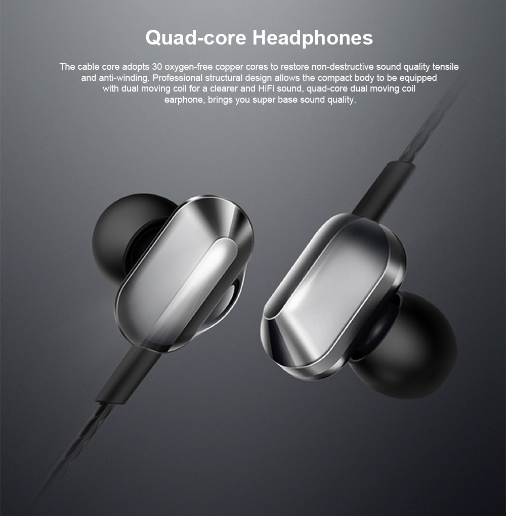 Universal A8 Quad-core Headphones Subwoofer Wired In-ear Earbuds Mobile Phone High-quality Karaoke Headset HiFi 0