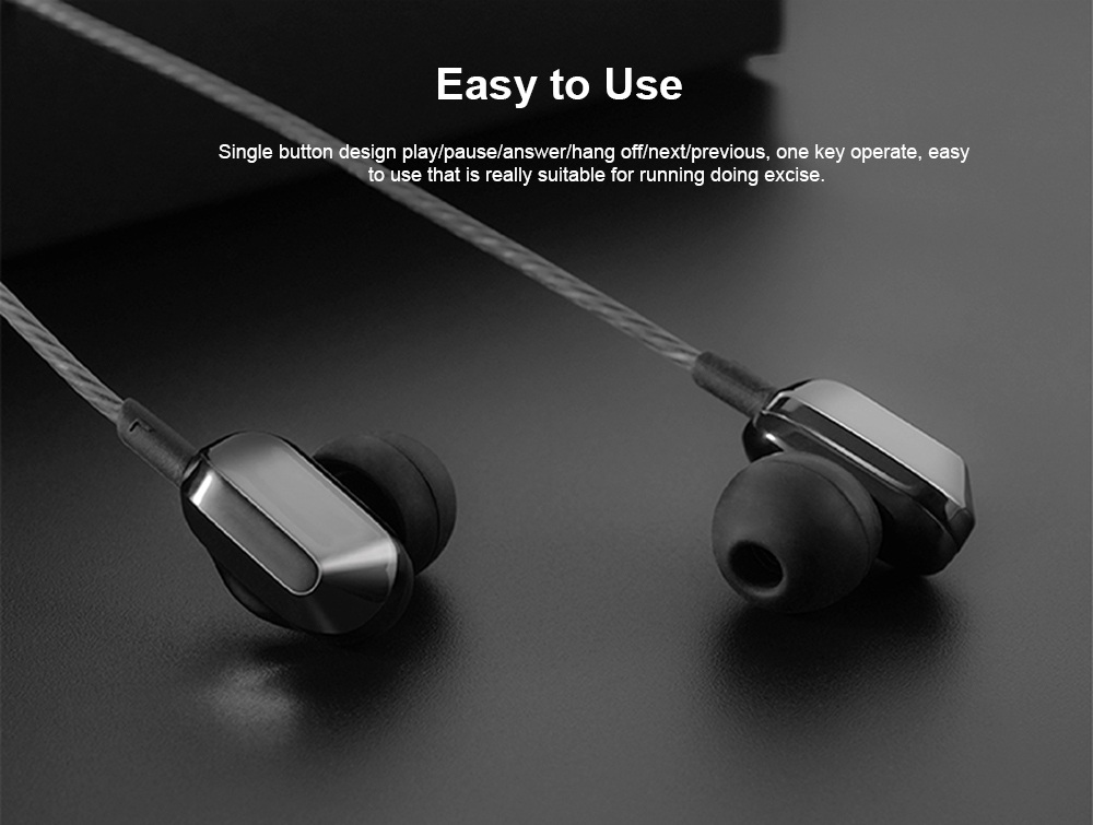 Universal A8 Quad-core Headphones Subwoofer Wired In-ear Earbuds Mobile Phone High-quality Karaoke Headset HiFi 2