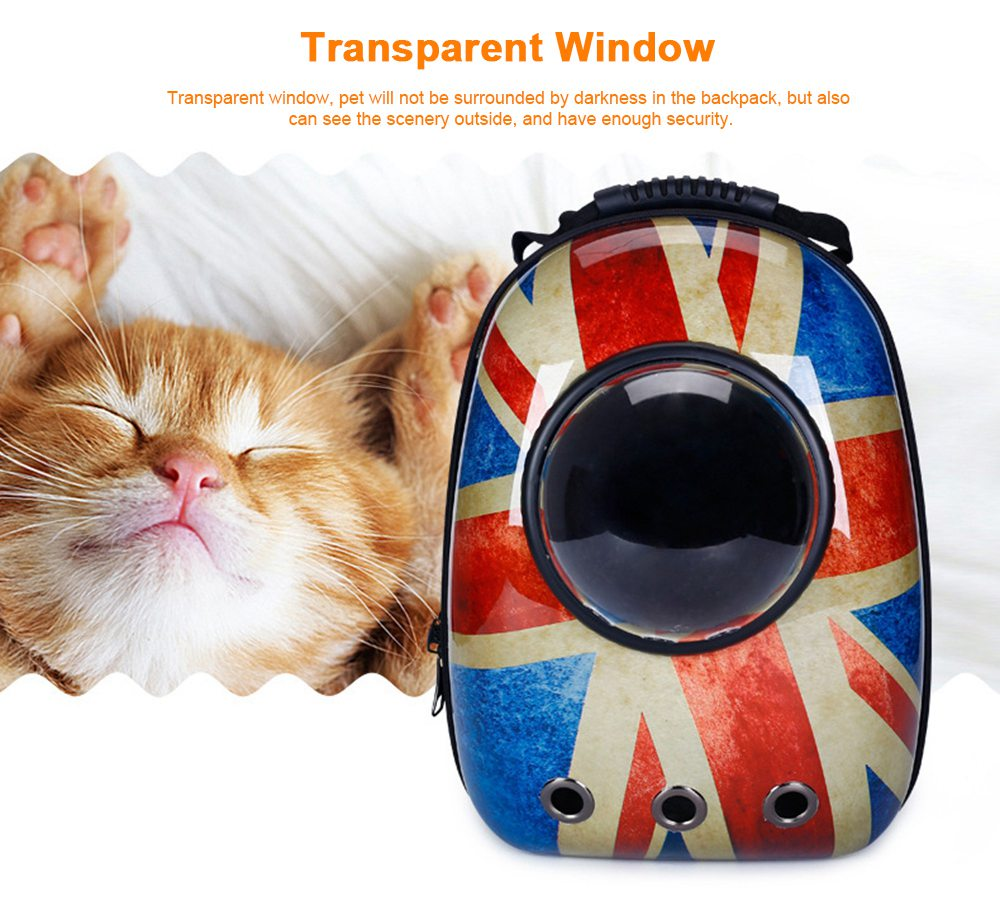 Astronaut Pet Cat Dog Puppy Breathable Oxford Cloth Carrier Travel Bag Space Fashion Capsule Backpack 4