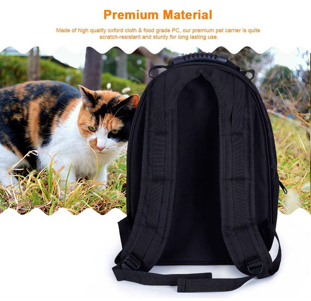 Astronaut Pet Cat Dog Puppy Breathable Oxford Cloth Carrier Travel Bag Space Fashion Capsule Backpack 2