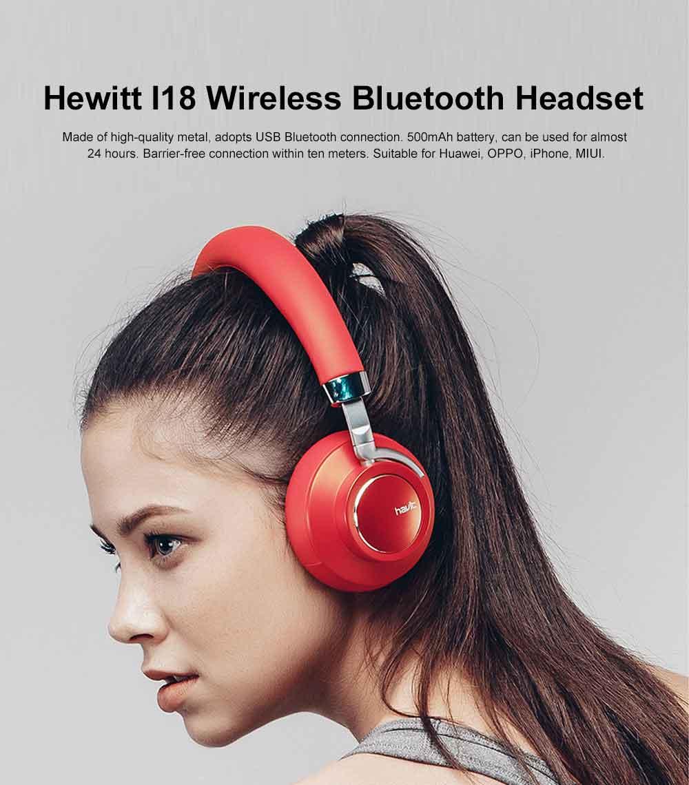 Wireless Bluetooth 4.1 Headphone Headset, Mobile HIFI Headset, Ultra Long Standby Music Sport Heavy subwoofer, Game Headphone 0