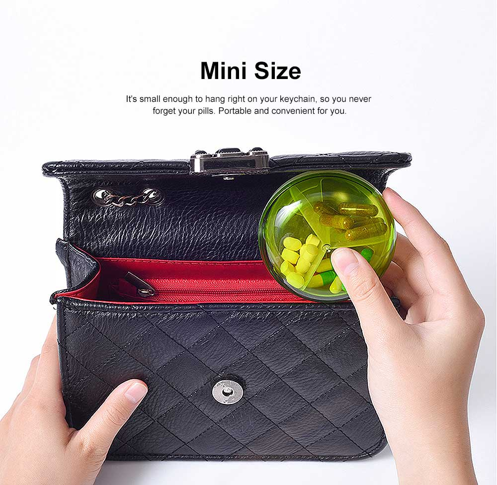 Three-Layer Folding Pill Box Weekly Medicine Case Mini Fashion Chewing Gum Box 1
