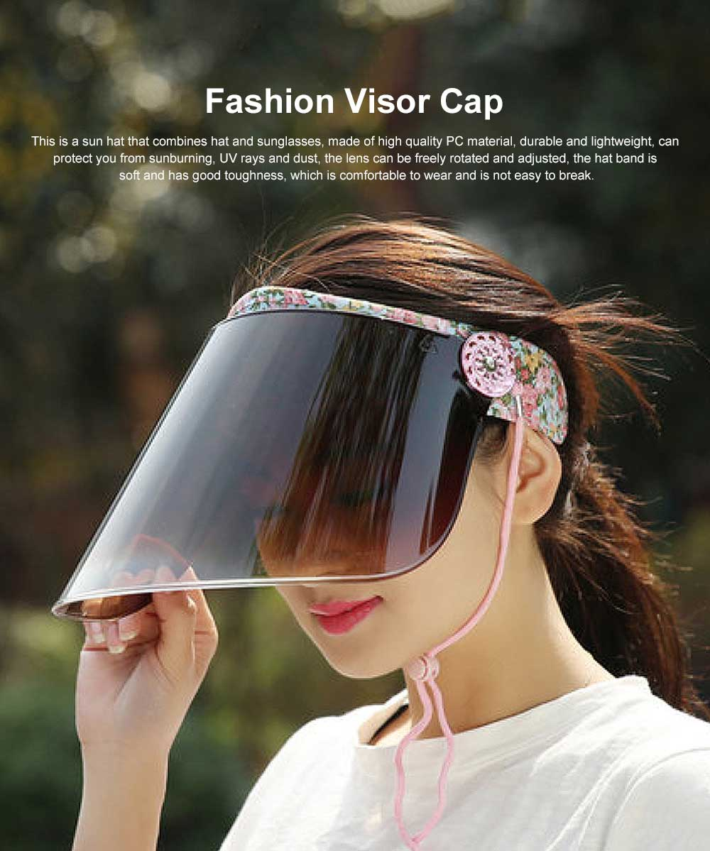 Sun Visor Hat Face Shield for Men and Women Outdoor Cycling Spring Autumn Fashion Visor Fishing Hats 0