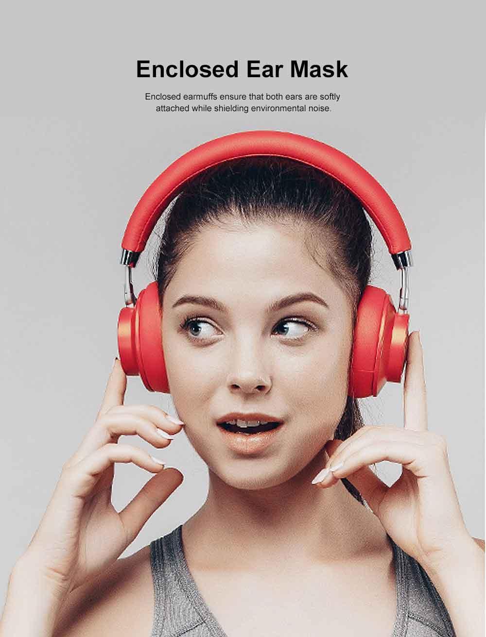 Wireless Bluetooth 4.1 Headphone Headset, Mobile HIFI Headset, Ultra Long Standby Music Sport Heavy subwoofer, Game Headphone 2