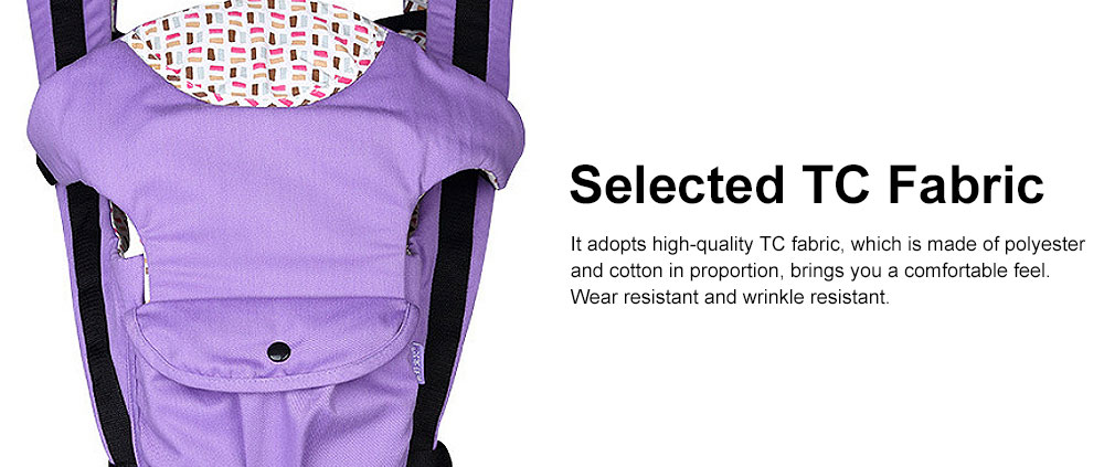 Baby Carrier Backpack Multifunctional 10 Position Anti-slip Buckle Sunshade Baby Waist Stool For Infant Newborn 2