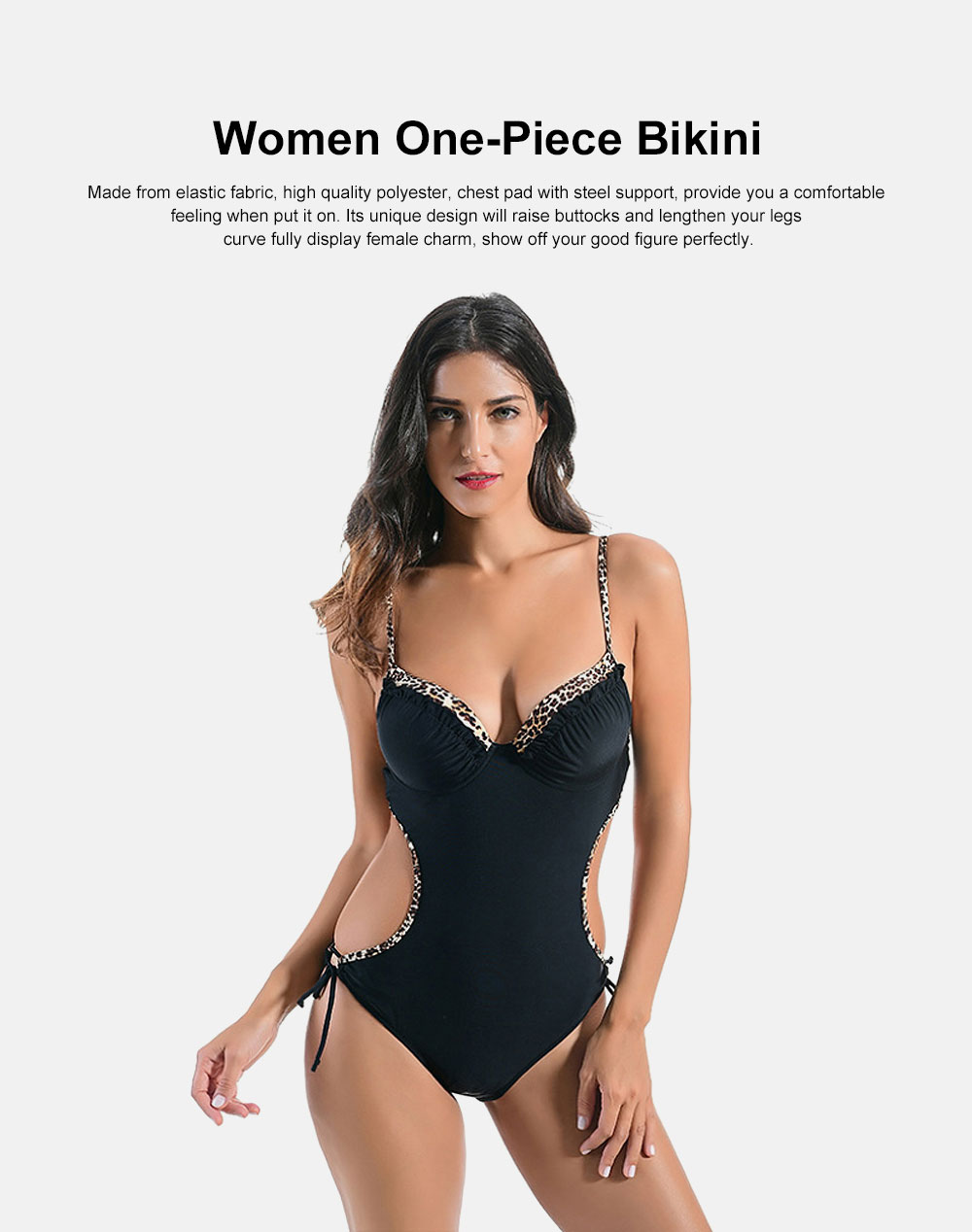 One-Piece Tankini Swimming Suits, Women Beachwear, Bathing Suits, Sexy Halter Swimsuits for Girls 0