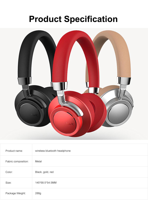 Wireless Bluetooth 4.1 Headphone Headset, Mobile HIFI Headset, Ultra Long Standby Music Sport Heavy subwoofer, Game Headphone 6