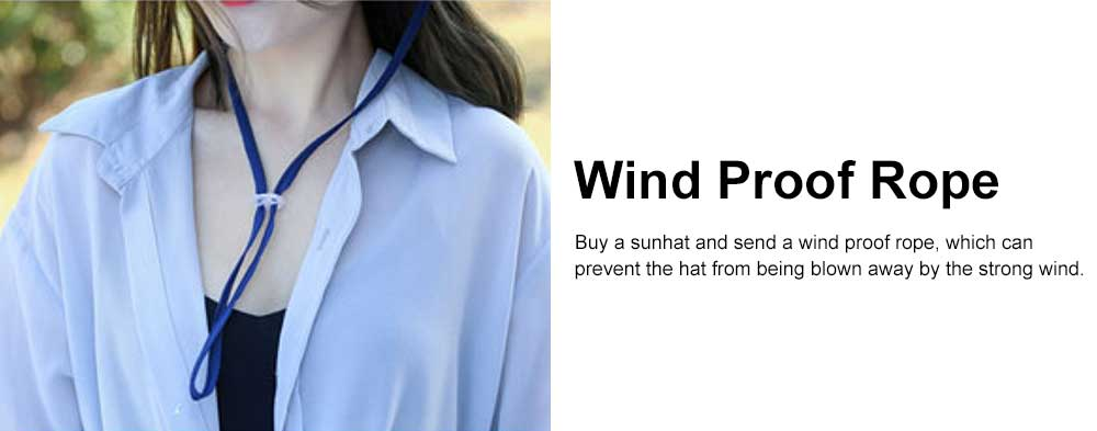 Spring Summer Sunhat for Women and Men, Unisex Large Brimmed Hat, Face-hiding Retractable Outdoor Beach Hat 4