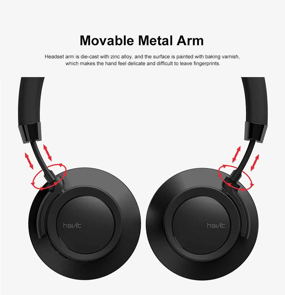 Wireless Bluetooth 4.1 Headphone Headset, Mobile HIFI Headset, Ultra Long Standby Music Sport Heavy subwoofer, Game Headphone 1