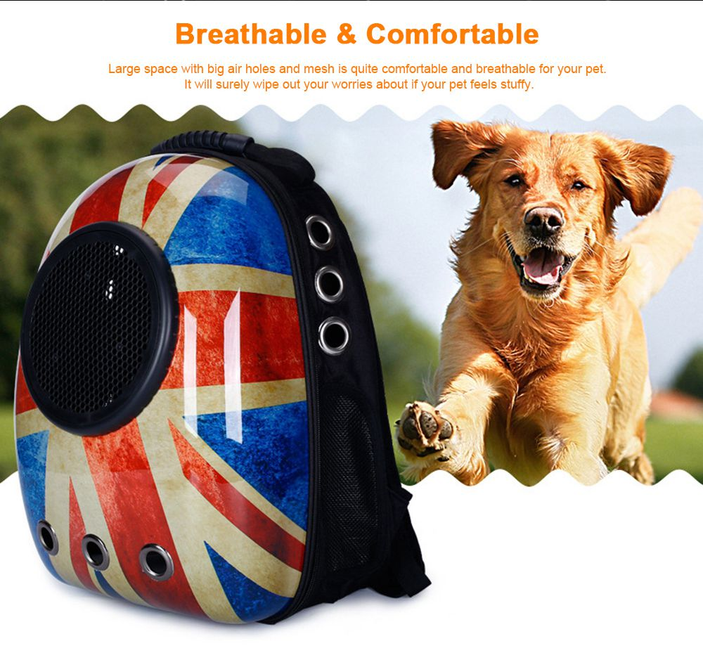 Astronaut Pet Cat Dog Puppy Breathable Oxford Cloth Carrier Travel Bag Space Fashion Capsule Backpack 1