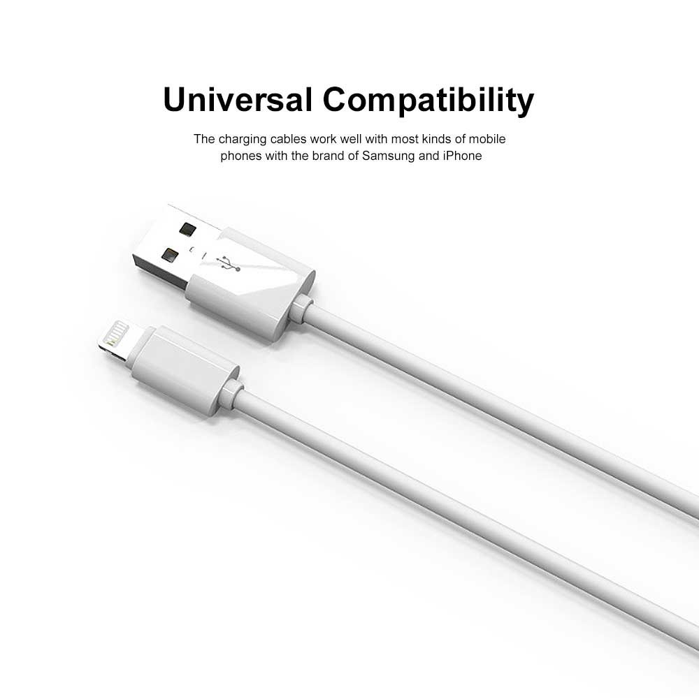Samsung iPhone Charger Cable Micro USB Cord Fast Charging Data Transfer USB Extremely Durable Cables 1