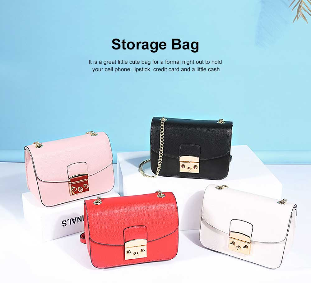 Female Small Cross-shoulder handbags for Women Cross-Body Bag Chain Shoulder Evening Clutch Purse Formal Bag 2