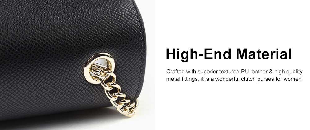 Female Small Cross-shoulder handbags for Women Cross-Body Bag Chain Shoulder Evening Clutch Purse Formal Bag 4