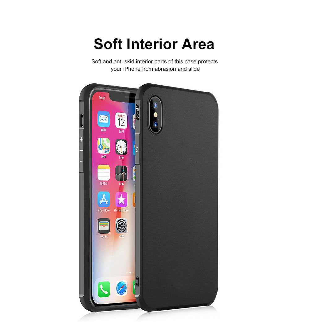 Silicone iPhone Protective Case Shell Slim Phone Back Cover with Full Body Protection with Dragon Pattern for iPhone X XS XR XS MAX 2