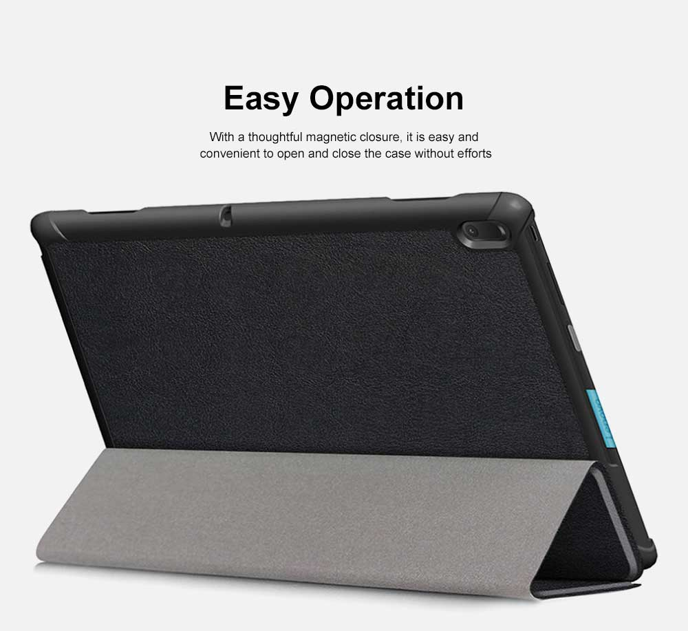 Protective Case Compatible with Lenovo TAB E10 TB-X104F Ultra Lightweight Slim Smart Folding Cover Case 4