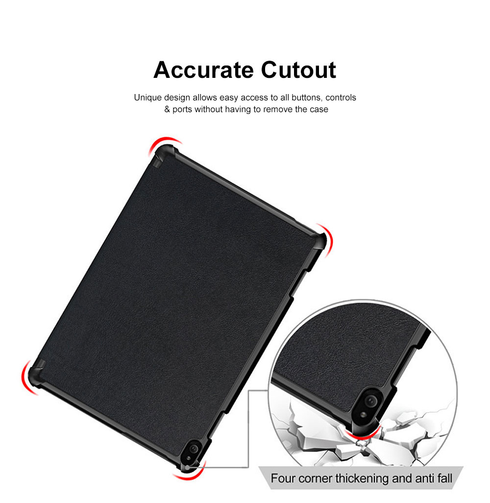 Protective Tablet Case For Lenovo Tab P10 Case Slim Smart Cover Standing Leather Flip Case for Lenovo Tab P10 9 Colors Option 3