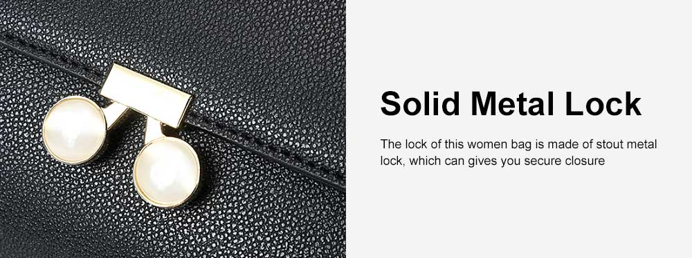 Women Chain Bag Fashion PU Leather Cross-Body Shoulder Bags Ladies Clutch Handbag 5