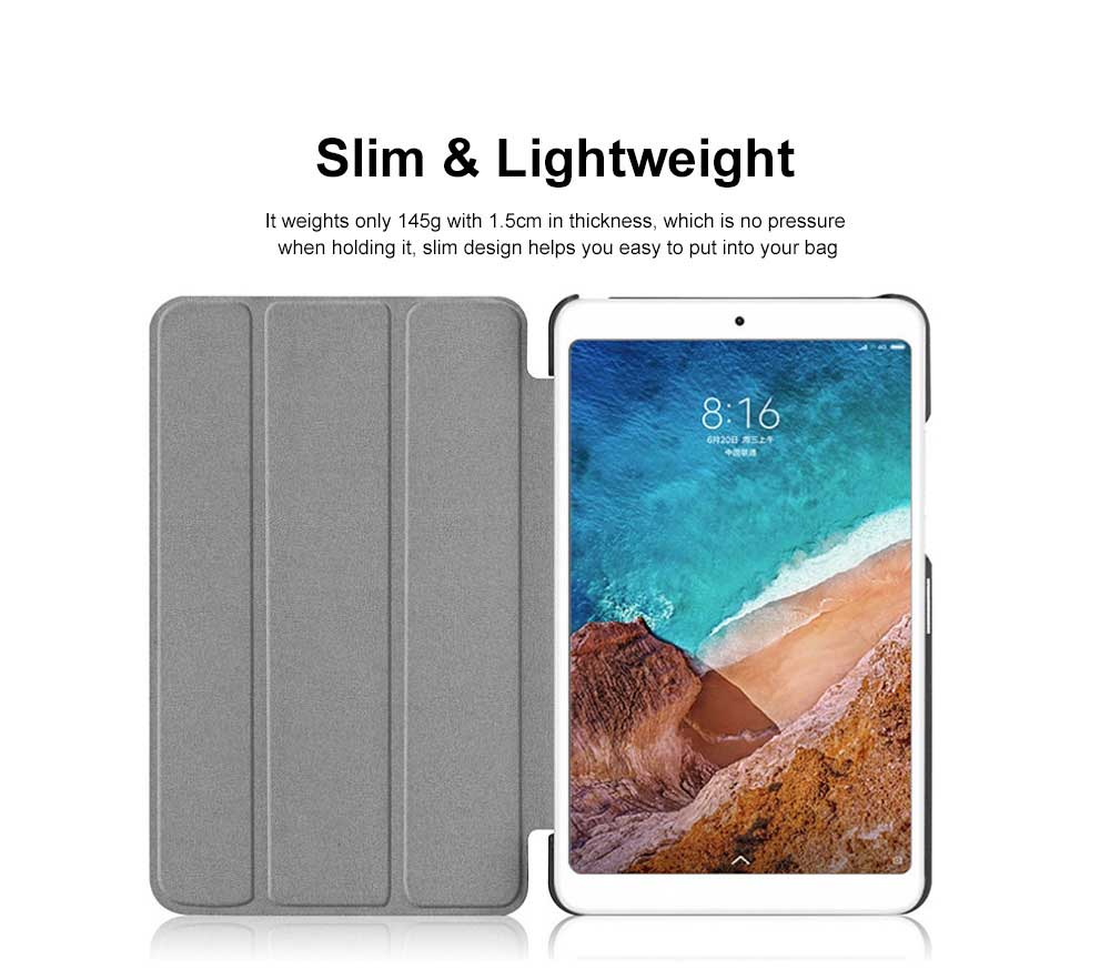 Stylish Practical Xiaomi Tablet Leather Case with Colorful Pattern Shockproof Cover Lightweight for Xiaomi Pad 4 5