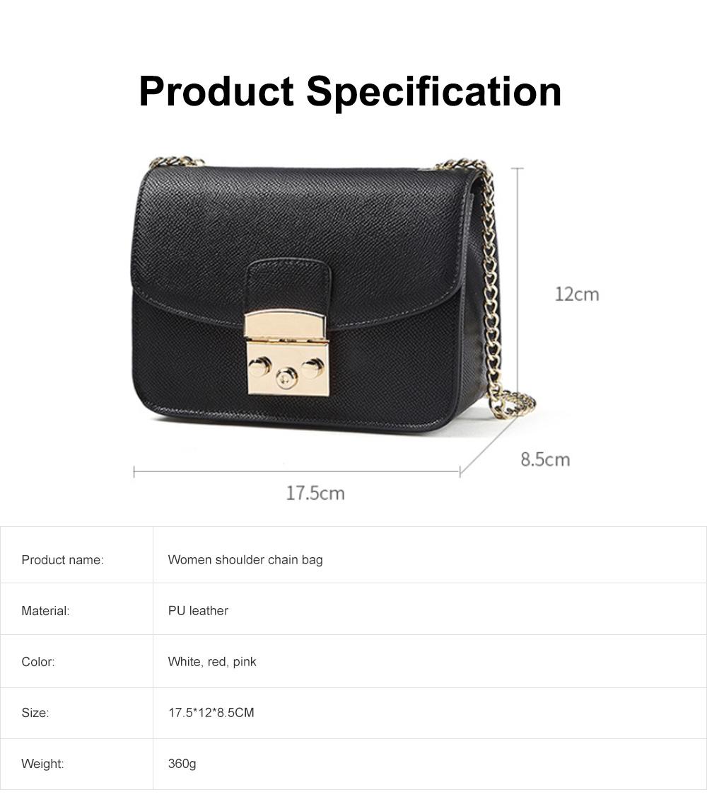 Female Small Cross-shoulder handbags for Women Cross-Body Bag Chain Shoulder Evening Clutch Purse Formal Bag 6