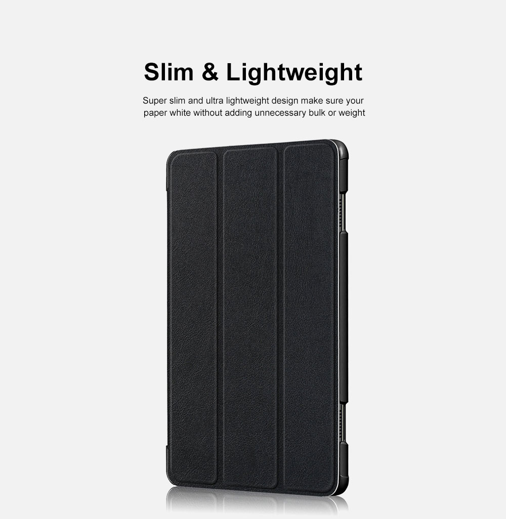 Protective Tablet Case For Lenovo Tab P10 Case Slim Smart Cover Standing Leather Flip Case for Lenovo Tab P10 9 Colors Option 2