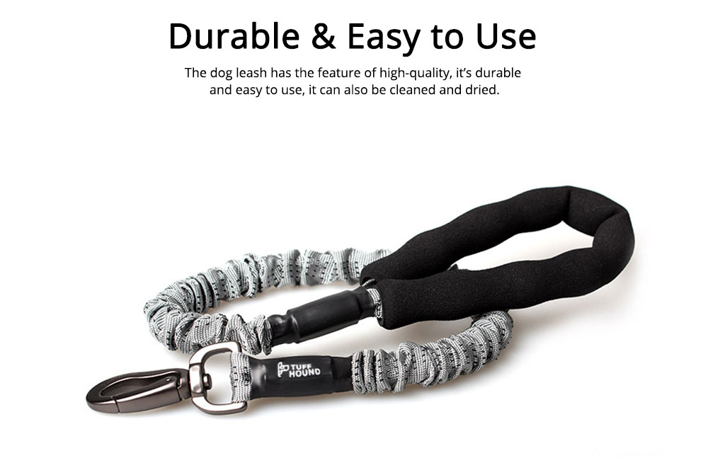 Dog Chain Zinc Alloy Foam Material Stretched Contracted Dog Leash Flexible Strong Dog Lead 4