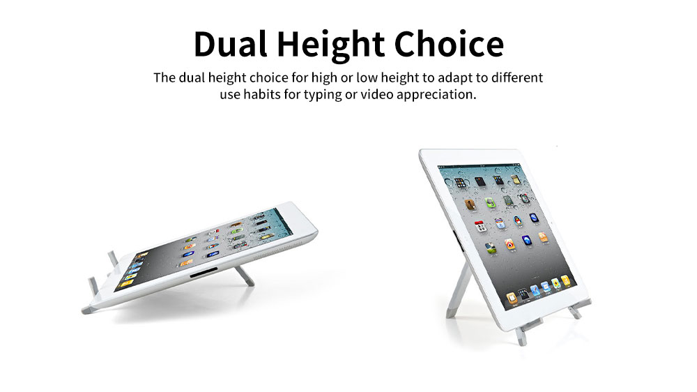 Tablet iPad Phone Metal Stand Portable Desktop A-frame Universal Stand for Tablet iPad Best-selling Easy to Carry Metal Mobile Stand 3