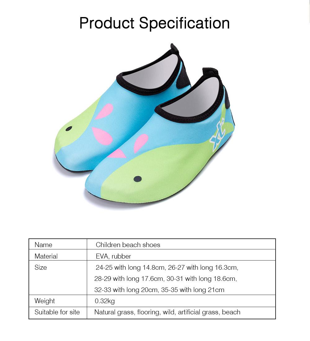 Kids EVA Rubber Soft Swimming Shoes for Swim Diving Wade Breathable Light Anti-slip Beachwear Shoes for Boy Girl 8