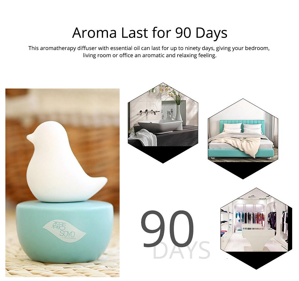 Innovative Pet Ceramic Aromatherapy Case Set Eco-friendly Fresh with Essential Oil 6