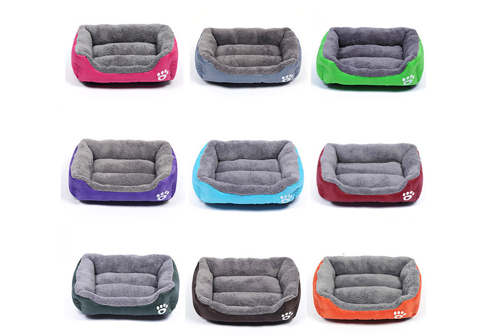 Super Soft Pet Sofa Dog Bed, Non Slip Bottom Pet Lounger, Self Warming and Breathable with Raised Rim Pet House 6