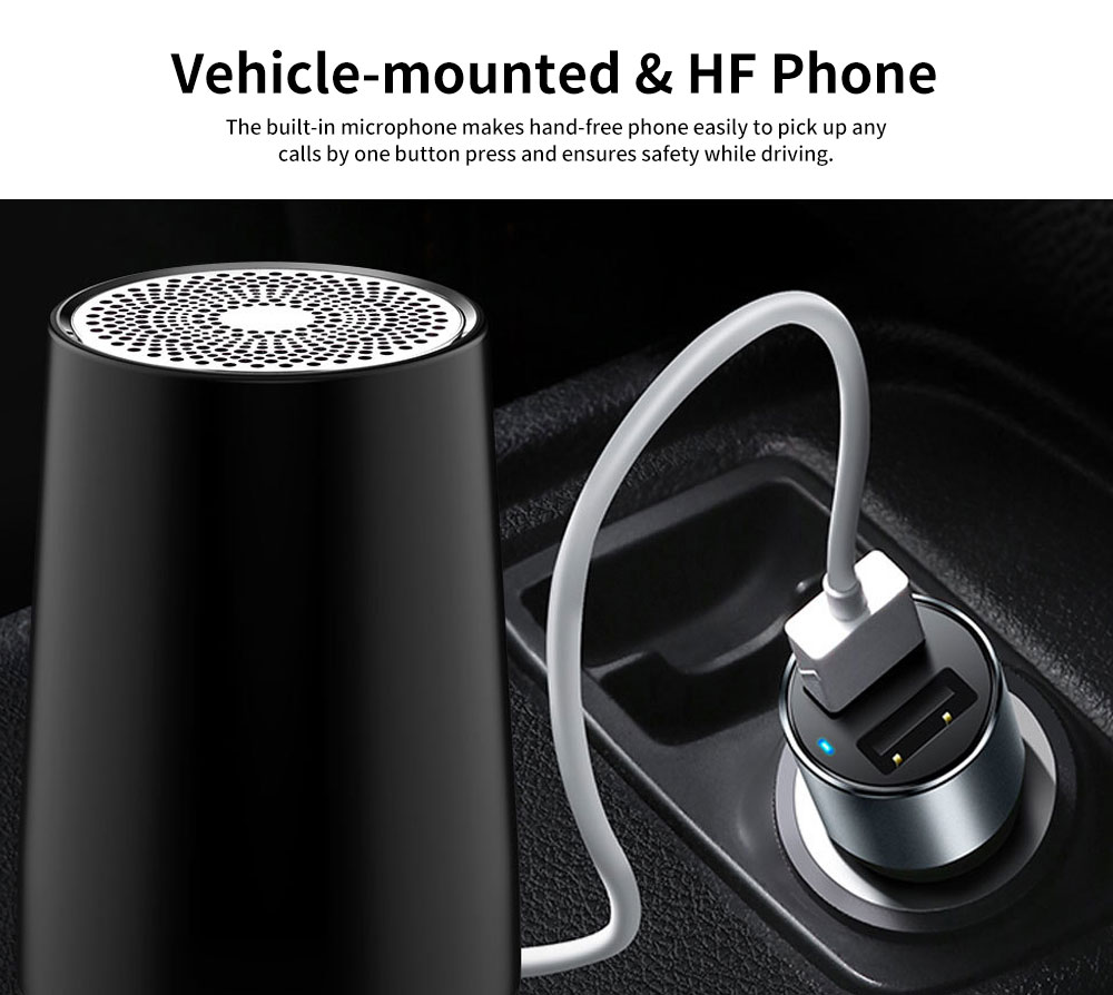 New Style Portable Wireless Bluetooth 4.2 Speaker Wireless 30M Bluetooth Subwoofer Vehicle-mounted Stereo Bluetooth Speaker 7