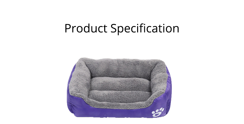 Super Soft Pet Sofa Dog Bed, Non Slip Bottom Pet Lounger, Self Warming and Breathable with Raised Rim Pet House 8