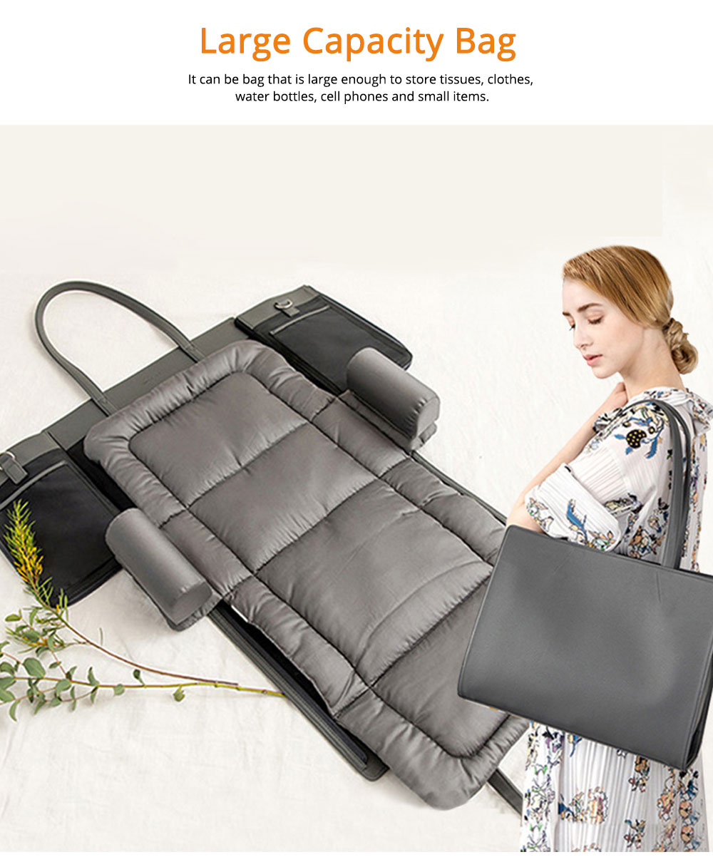 Cushion Leather Cotton Material Pressure-resistant for Baby Sleep Bed Collapsible Portable for Mom Bag Soft Mat 1