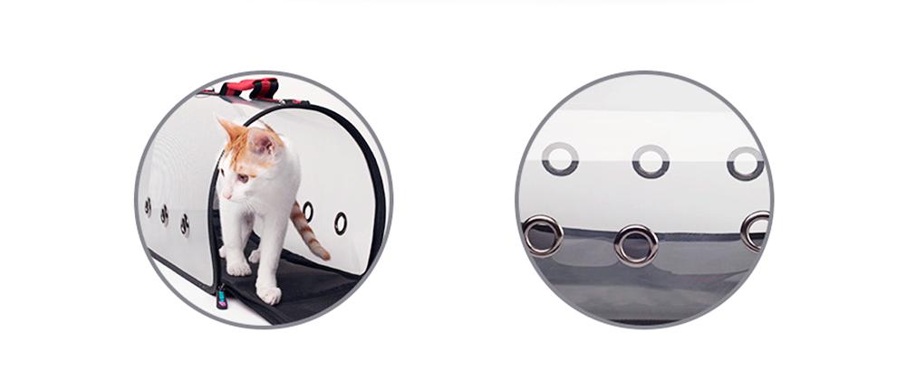 Transparent Pet Carrier Single-shouldered Handheld Cat Bag For Cat Dog for Outdoor Use 5