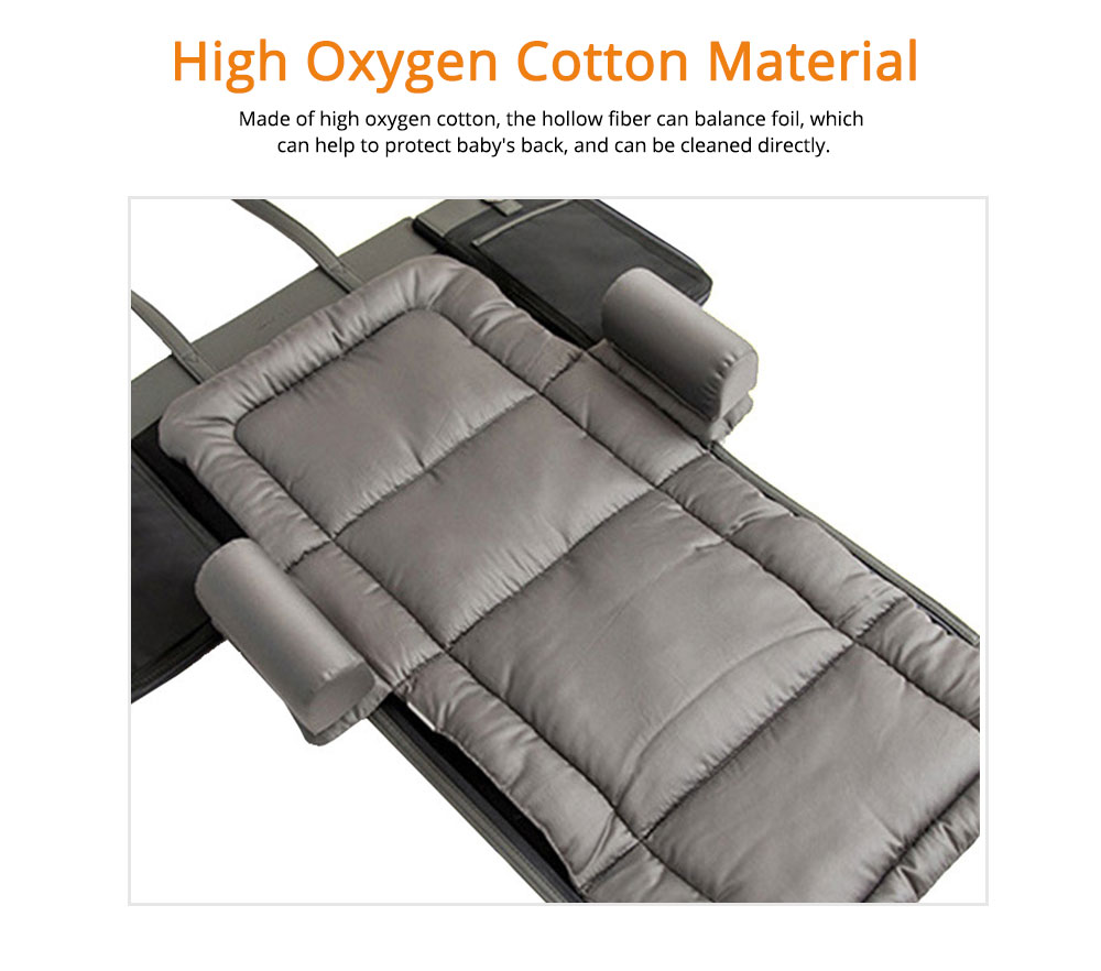 Cushion Leather Cotton Material Pressure-resistant for Baby Sleep Bed Collapsible Portable for Mom Bag Soft Mat 2