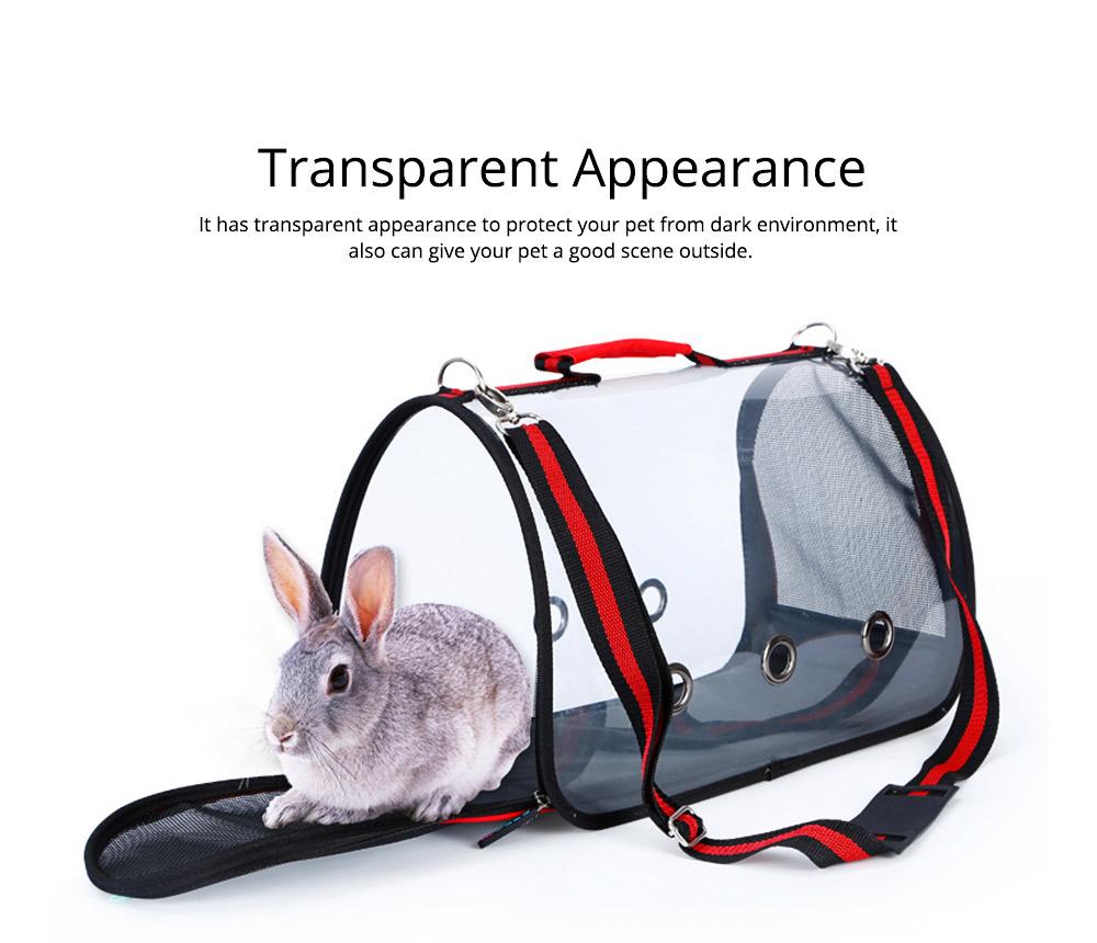 Transparent Pet Carrier Single-shouldered Handheld Cat Bag For Cat Dog for Outdoor Use 1