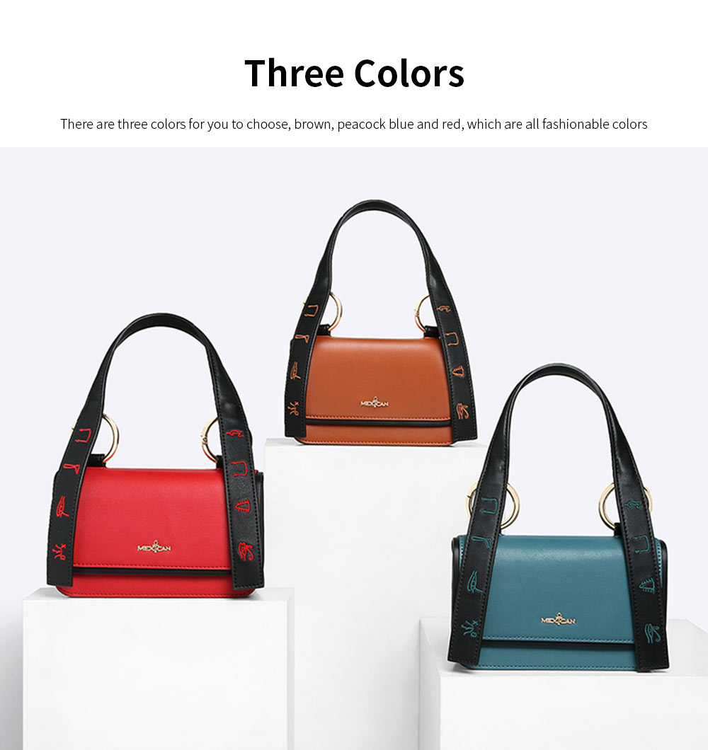 2019 Latest Fashionable Women Purse, PU Magnetic Snap Shoulder Bag, Messenger Bag for Ladies Easy Matching 3