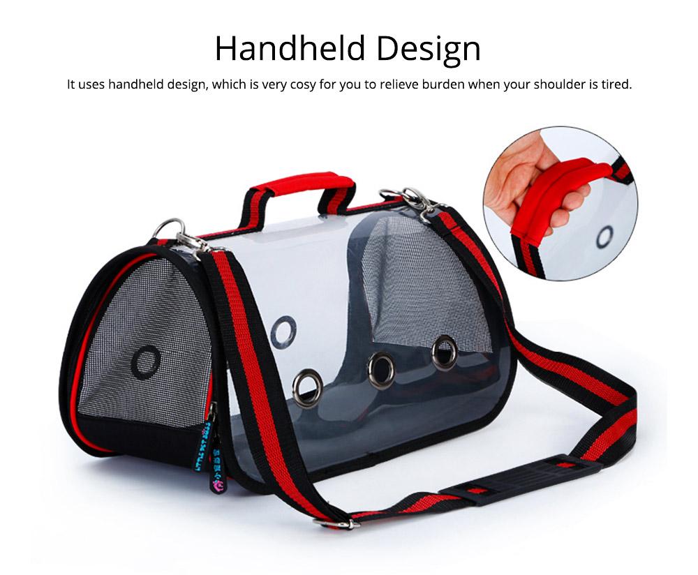Transparent Pet Carrier Single-shouldered Handheld Cat Bag For Cat Dog for Outdoor Use 6