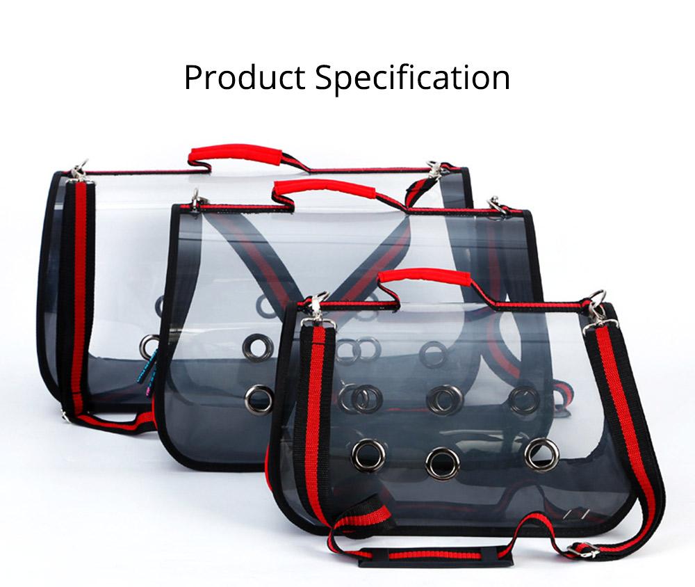 Transparent Pet Carrier Single-shouldered Handheld Cat Bag For Cat Dog for Outdoor Use 10