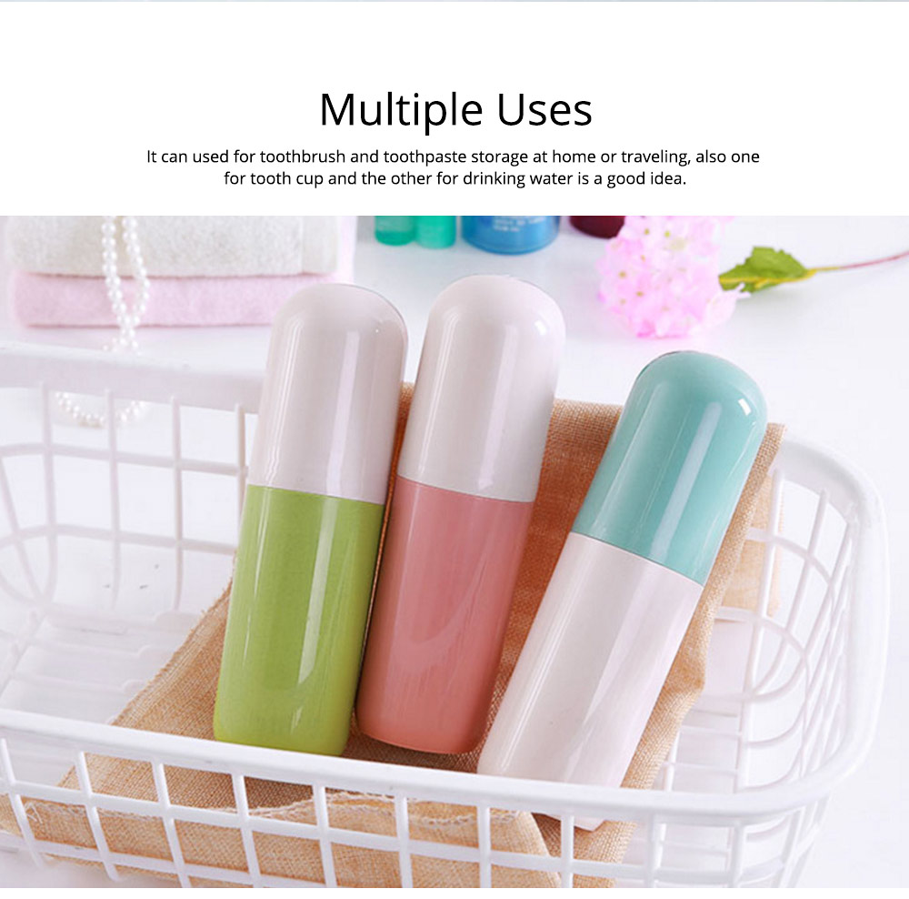 Toothbrush Holder Toothpaste Case Travel Containers Organizer Protect Storage Box for Travel Camping Outdoors 5