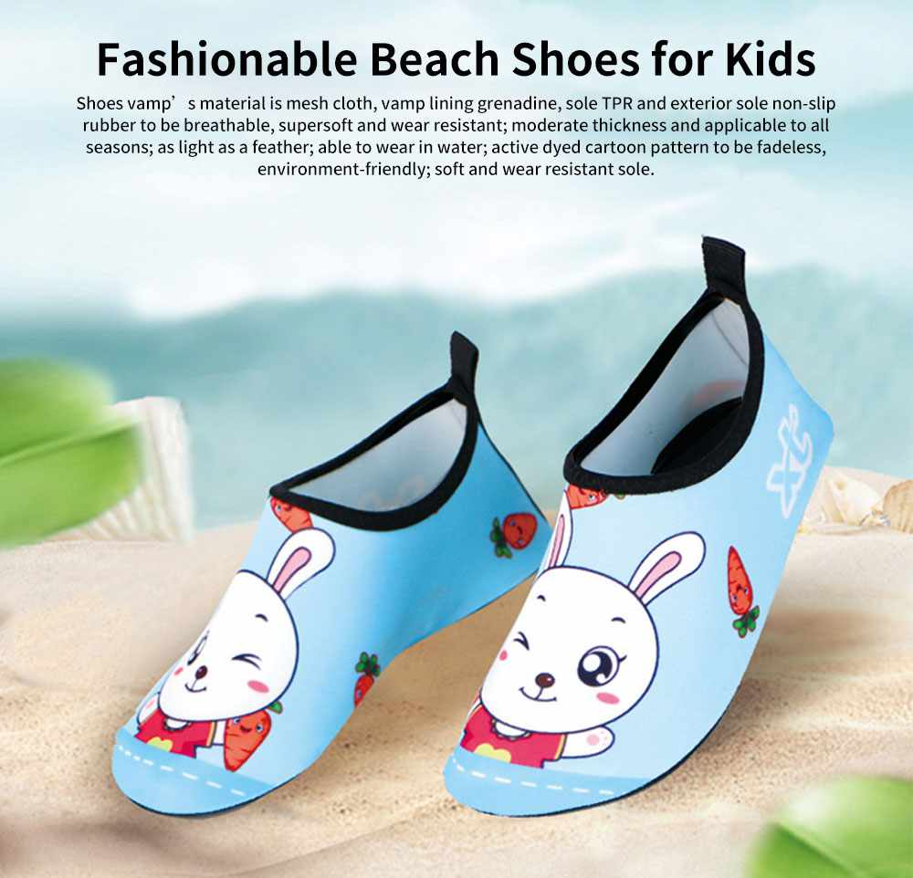 Fashionable Quick-dry Beach Shoes for Kids, Children's Breathable Beach Shoes for Outdoor Activity Swimming Shoes 0