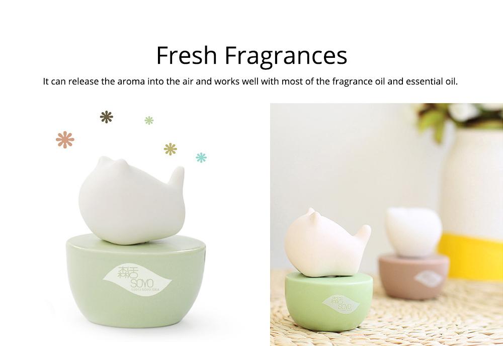 Innovative Pet Ceramic Aromatherapy Case Set Eco-friendly Fresh with Essential Oil 2