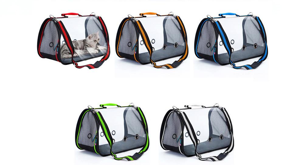 Transparent Pet Carrier Single-shouldered Handheld Cat Bag For Cat Dog for Outdoor Use 11