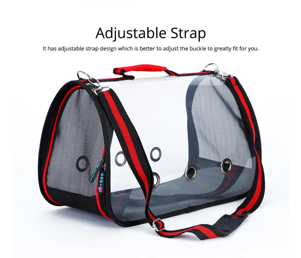 Transparent Pet Carrier Single-shouldered Handheld Cat Bag For Cat Dog for Outdoor Use 7