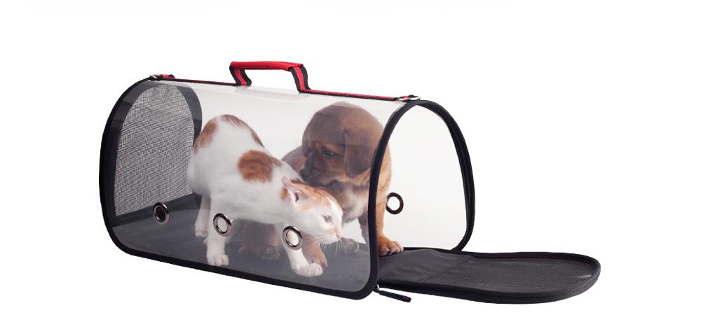 Transparent Pet Carrier Single-shouldered Handheld Cat Bag For Cat Dog for Outdoor Use 2