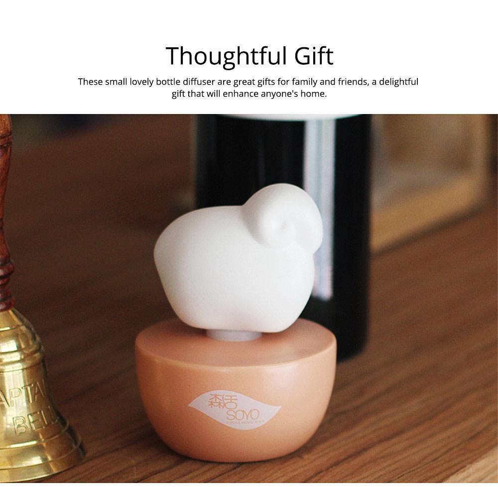 Innovative Pet Ceramic Aromatherapy Case Set Eco-friendly Fresh with Essential Oil 5