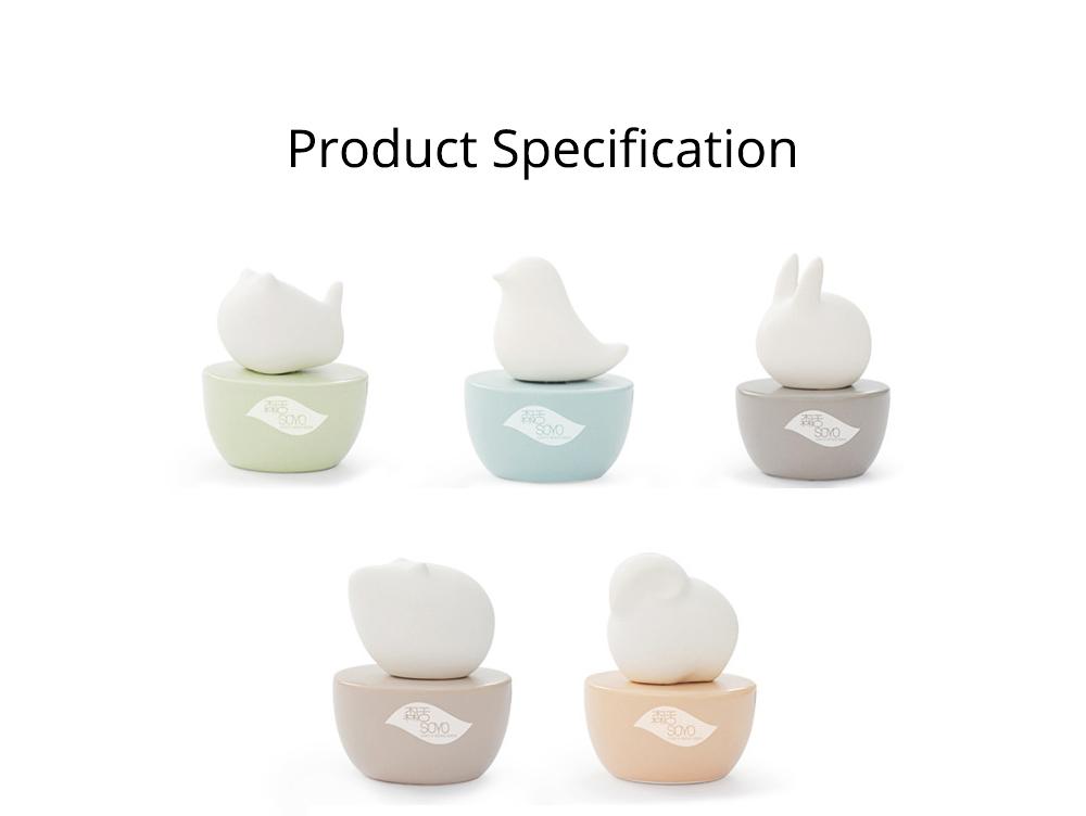 Innovative Pet Ceramic Aromatherapy Case Set Eco-friendly Fresh with Essential Oil 7