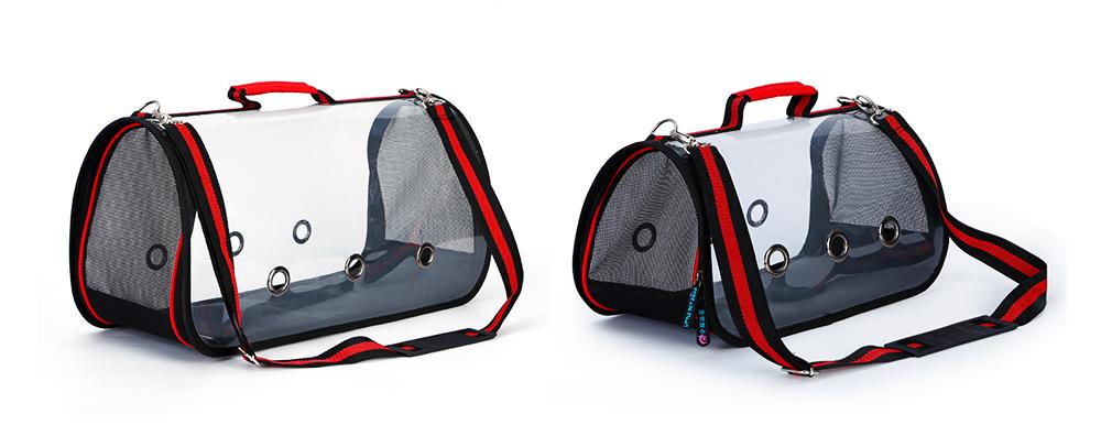 Transparent Pet Carrier Single-shouldered Handheld Cat Bag For Cat Dog for Outdoor Use 8