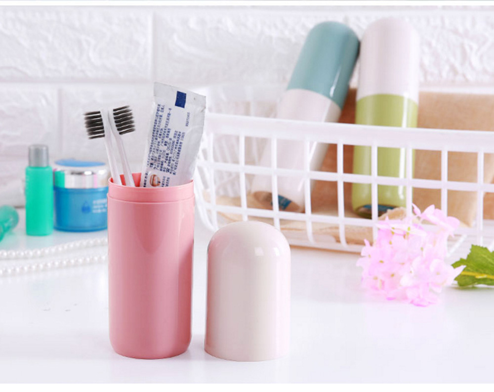 Toothbrush Holder Toothpaste Case Travel Containers Organizer Protect Storage Box for Travel Camping Outdoors 3