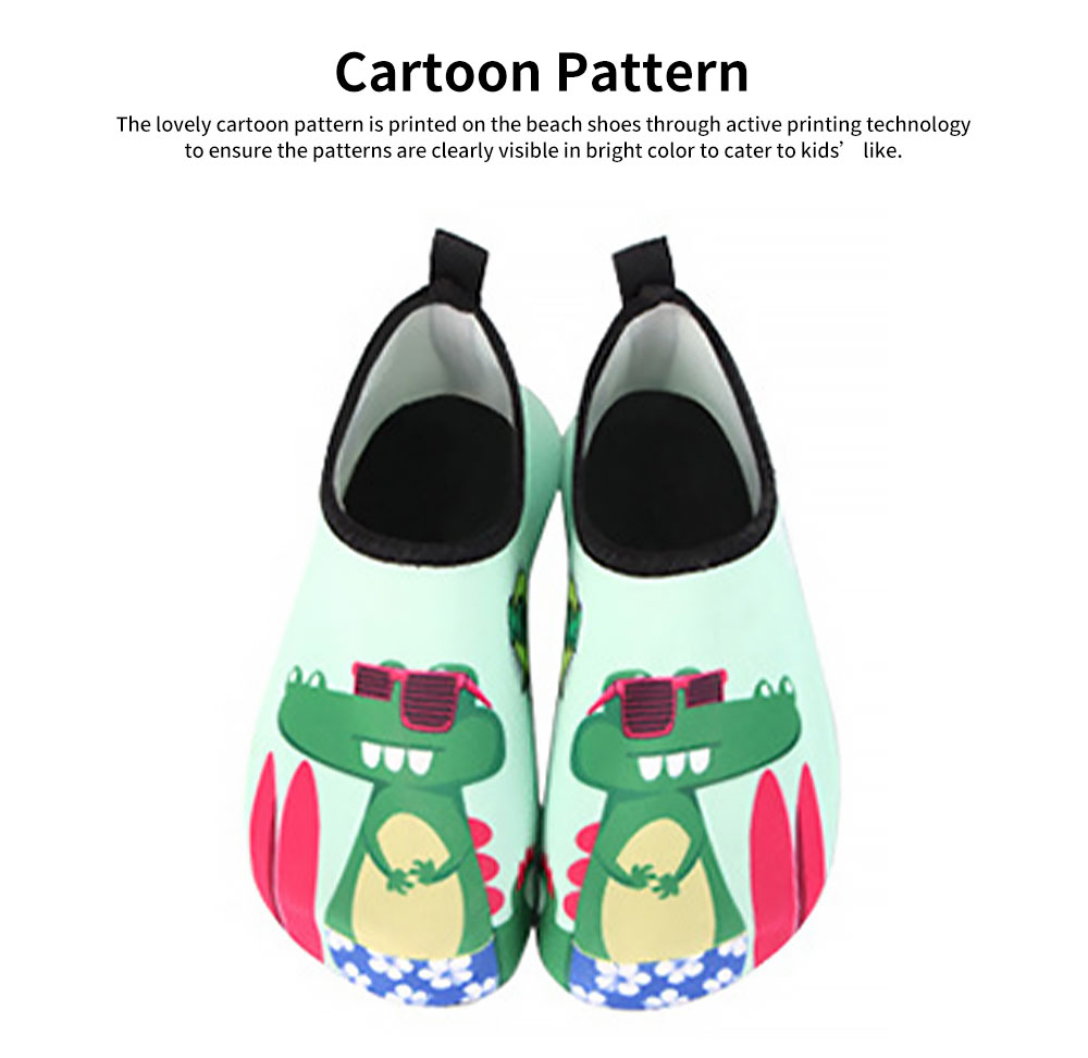 Fashionable Quick-dry Beach Shoes for Kids, Children's Breathable Beach Shoes for Outdoor Activity Swimming Shoes 2